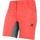 Mammut Runbold Light Pantaloni corti Donna rosso